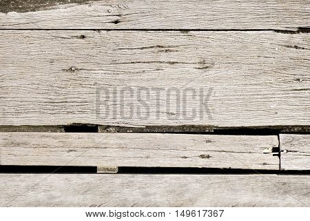 Old rough wood board background texture. detail