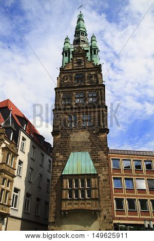Townhouse Tower Muenster