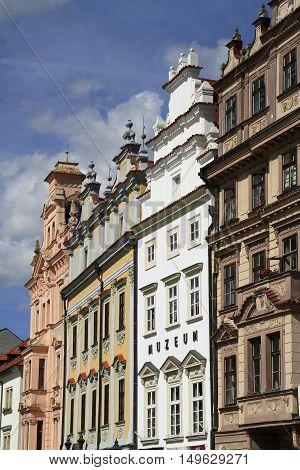 House Facade In Pilsen