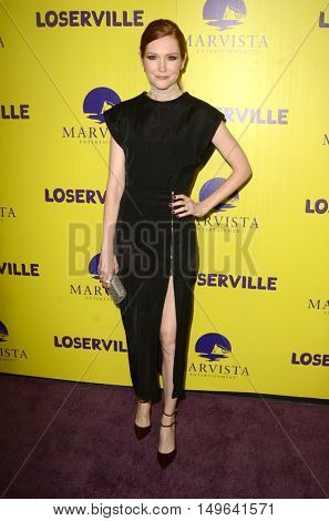 LOS ANGELES - SEP 29:  Darby Stanchfield at the