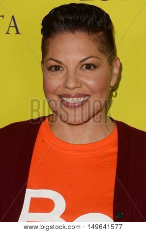 LOS ANGELES - SEP 29:  Sara Ramirez at the