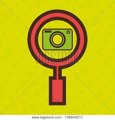 symbol camera photograph images vector illustration eps 10