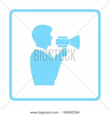 Man With Mouthpiece Icon