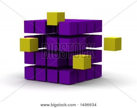 Innovation 3D Cubes
