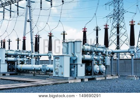 Electric power production equipment in electric power substation