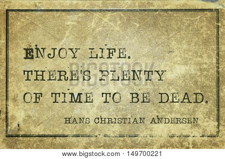 Enjoy Life Andersen