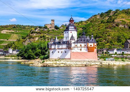 Pfalzgrafenstein Castle known as