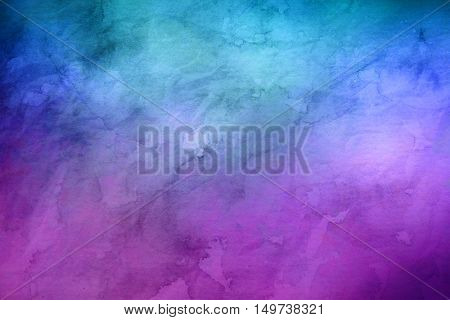 Blue and purple marbled random background with copy space for marketing or concepts about the unknown
