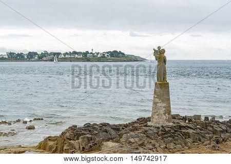 Sculpture At The Gulf Of Morbihan