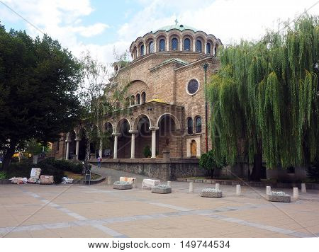 Church of Sveta Nedelya Sofia Bulgaria Europe