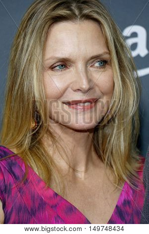 Michelle Pfeiffer at the Los Angeles premiere of Amazon's 'Goliath' held at the London Hotel in West Hollywood, USA on September 29, 2016.