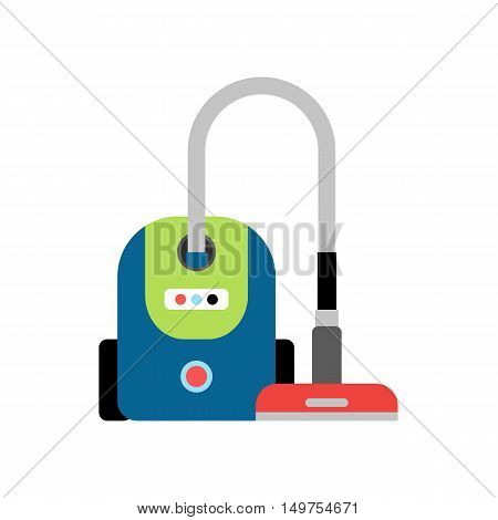 Vacuum Cleaner Machine for cleaning dust and dirt from the surface due to the suction by air flow
