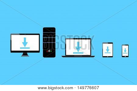 Computer-laptop-phone-taplet-wifi-download-1