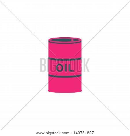 Barrel Icon Vector. Flat simple color pictogram