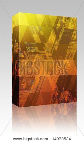 Software package box Hi tech pattern abstract wallpaper background design poster