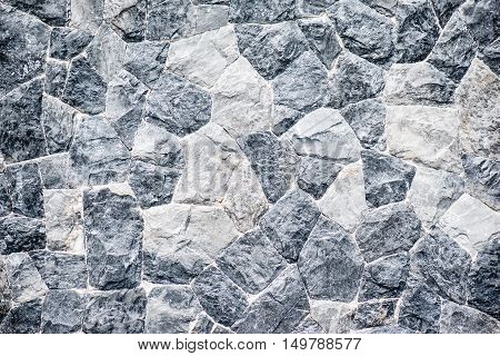 The surface of the stone wall background