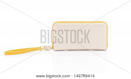 woman wallet on a white background isolated
