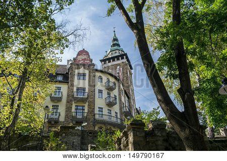 Hunguest Hotel Palota in Lillafüred was built between 1925-1929