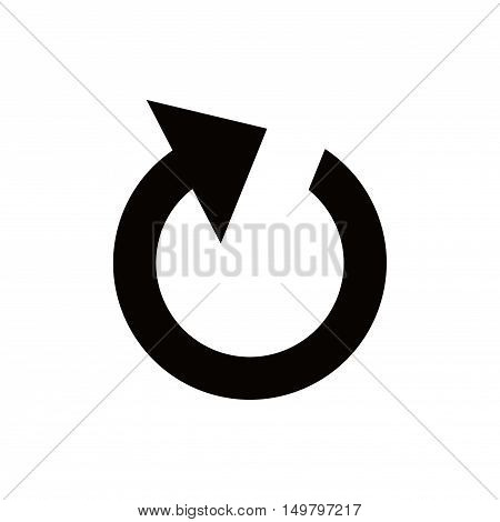 reload icon stock vector illustration flat design