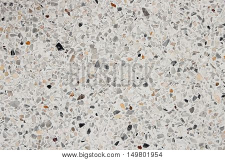 Stone wall texture Terrazzo Marble surface floor for background