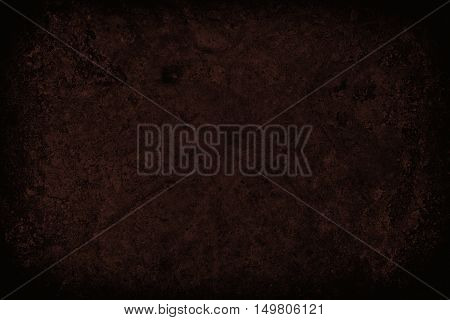 Dark Red Scratched Grunge Wall Background Or Texture