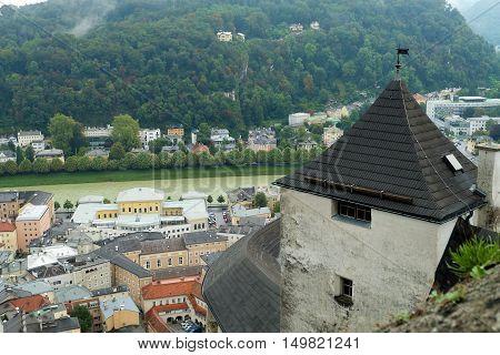 Center Of City Salzburg, Austria