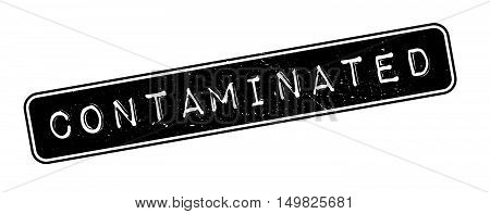 Contaminated Rubber Stamp