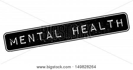 Mental Health Rubber Stamp