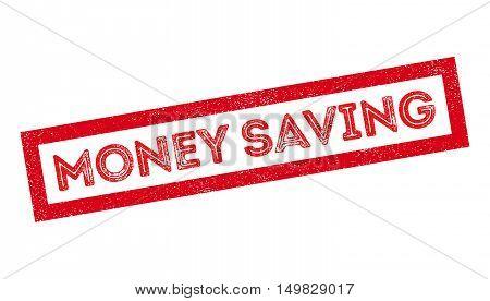 Money Saving Rubber Stamp