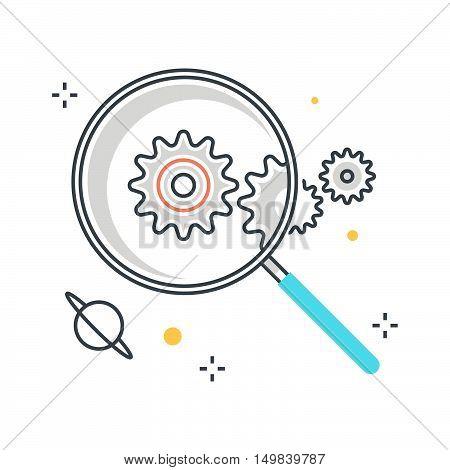 Magnifier Illustration