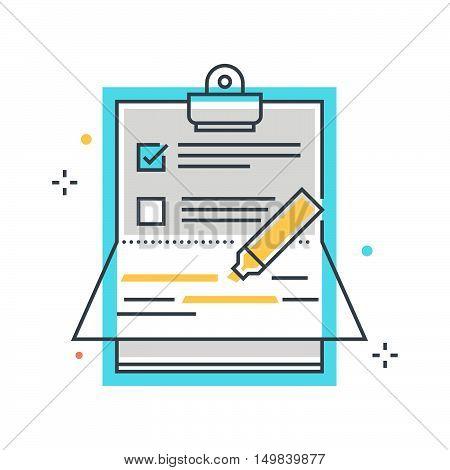 Paper Binder Illustration