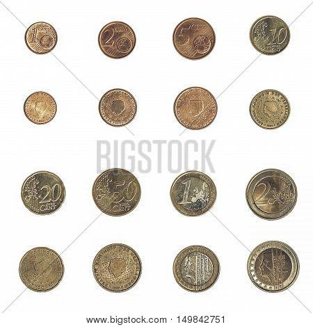 Vintage Euro Coin - Nederlands