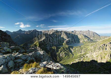 Panoramic view of the Tatra Mountains, Poland