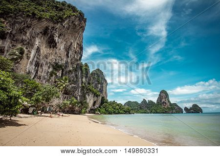 Tonsai Beach In Thailand