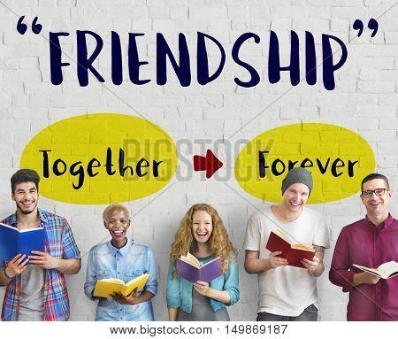 Togetherness Harmony Fellowship Love Concept