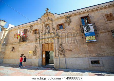 Archive Of The Spanish Civil War In Salamanca