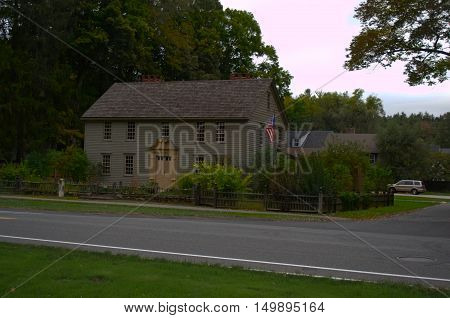 Mission House owned by John, Sergeant an early American missionary, Stockbridge MA