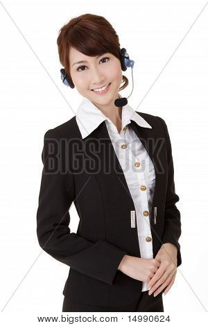 Asian Secretary Woman