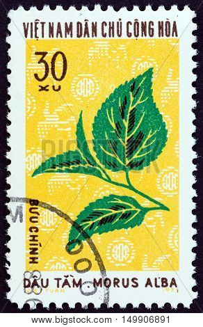 NORTH VIETNAM - CIRCA 1974: A stamp printed in North Vietnam from the