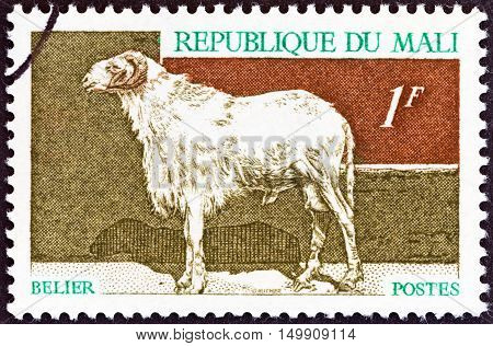 MALI - CIRCA 1969: A stamp printed in Mali from the