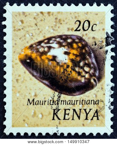 KENYA - CIRCA 1971: A stamp printed in Kenya from the