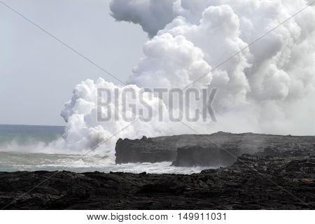 Hawaii Volcanoes National Park, Usa..