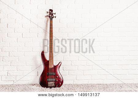 Rosewood Bass Electric Guitar