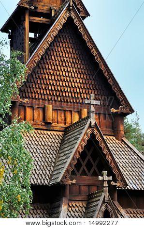 Church of Gol, Norway.