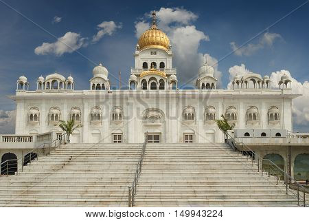 Gurudwara Bangla Sahib Is One Of The Most Prominent Sikh Gurdwara, In Delhi, India
