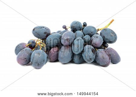 Bunch Blue Grapes