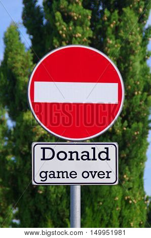 Donald, Game Over