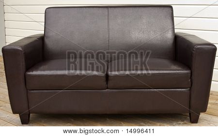 Leather coach