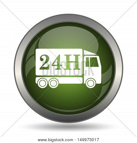 24H Delivery Truck Icon