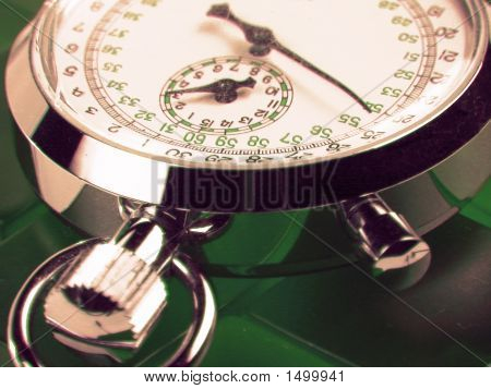 Stopwatch Green